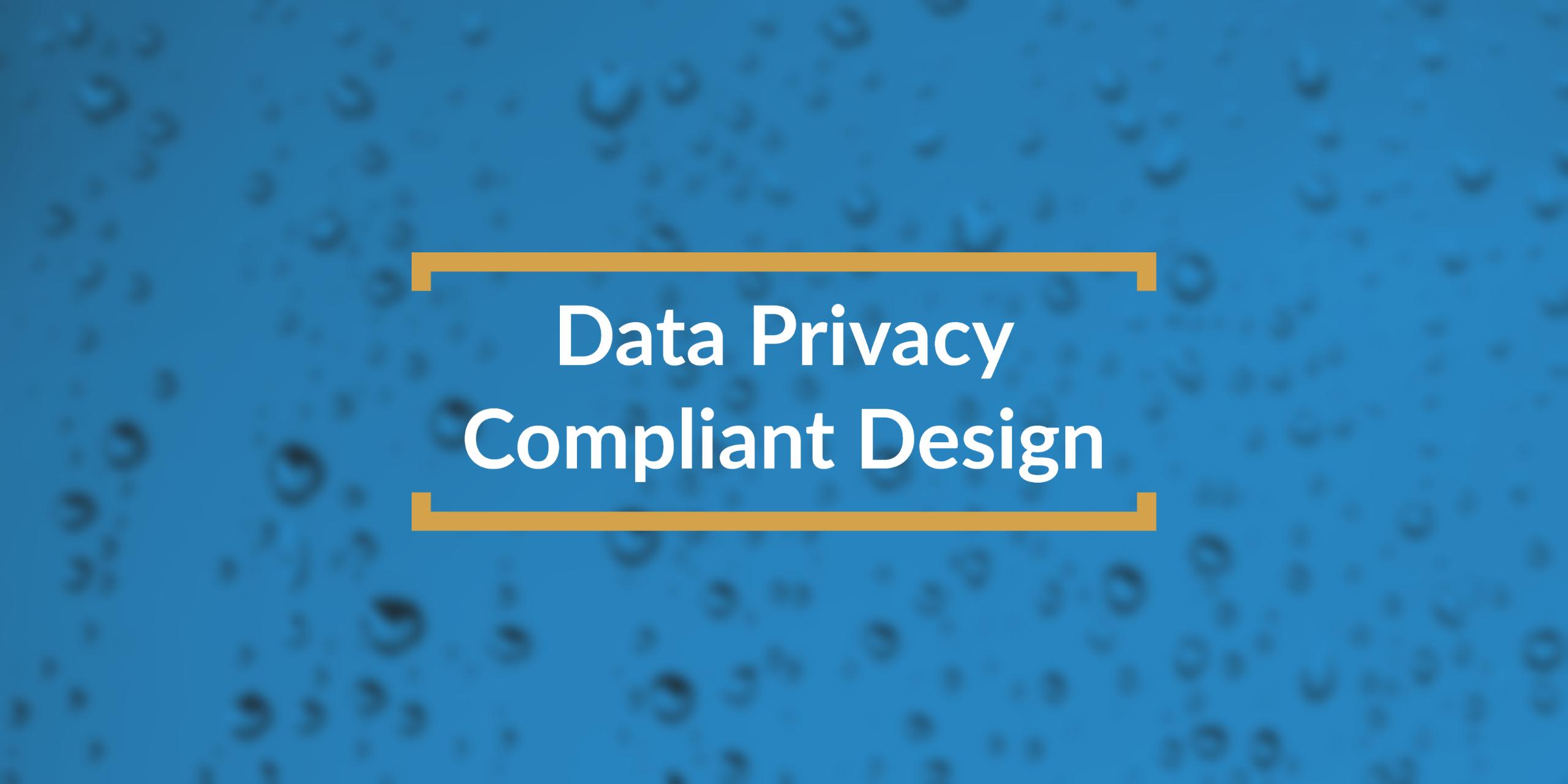data compliant design title box