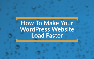 Make Your Website Load Faster Title Box
