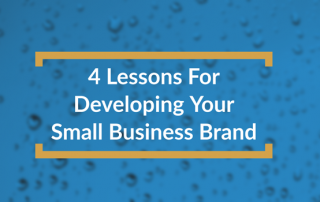 lessons for developing your small business brand title box