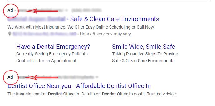 generic Google Ad Sample