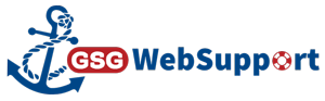 blue anchor with gsgwebsupport